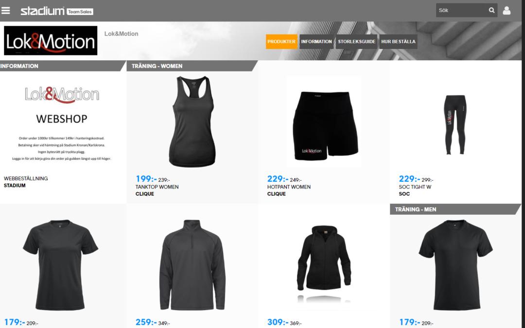 Beställ dina gymkläder härifrån! (Samarbete med Stadium)