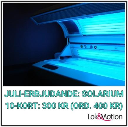 Juli-Erbjudande: Solarium