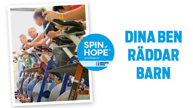 Schema för Spin of Hope 21 mars
